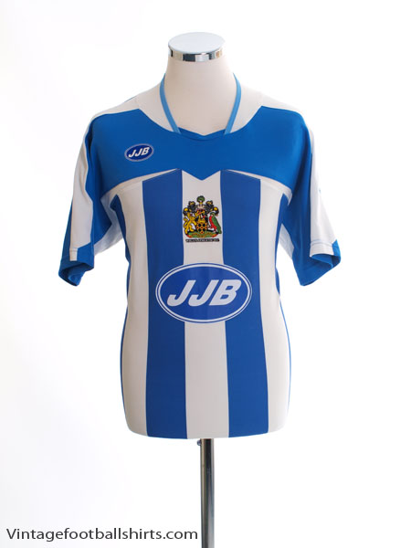 2005-06 Wigan Home Shirt M