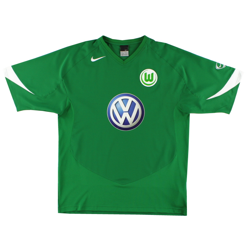 2005-06 Wolfsburg Home Shirt L