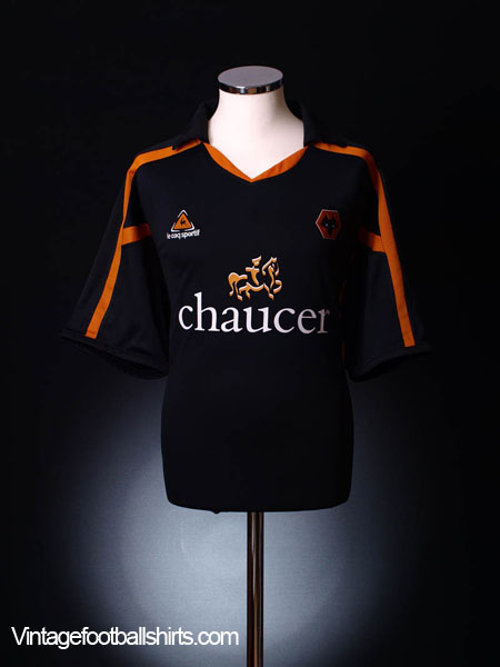 2005-06 Wolves Away Shirt M
