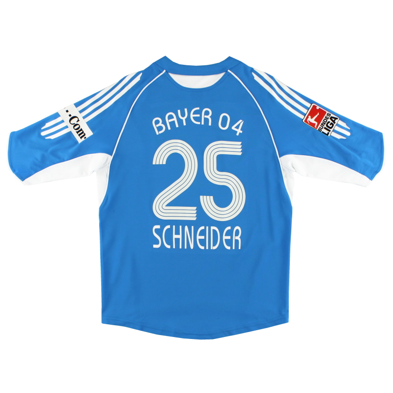 2005-07 Bayer Leverkusen Away Shirt Schneider #25 XL.Boys - 565048