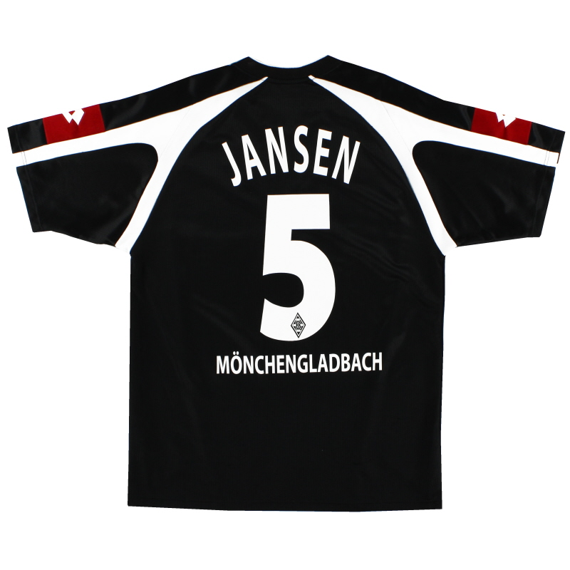 2005-07 Borussia Monchengladbach Away Shirt Jansen #5 M