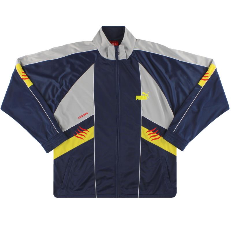 2005-07 Catalunya Puma Track Jacket L