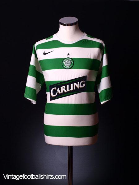 2005-07 Celtic Home Shirt M