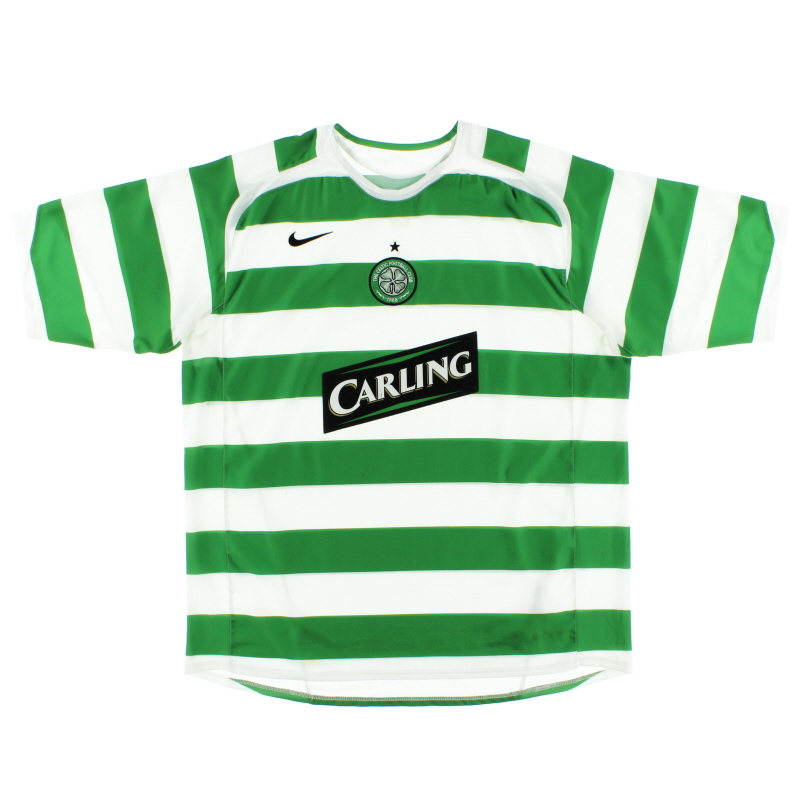 2005-07 Celtic Home Shirt XXL