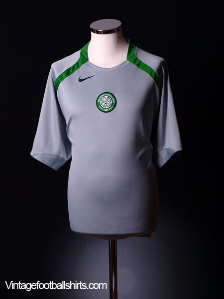 2005-07 Celtic Nike Training Shirt S.Boys