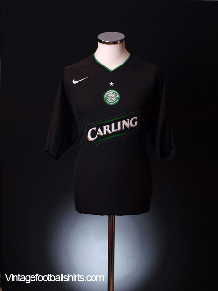 2005-07 Celtic Third Shirt L