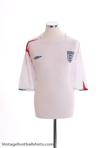 2005-07 England Home Shirt XXXL