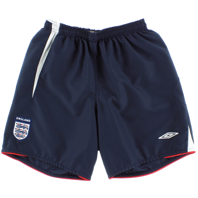 2005-07 England Home Shorts S