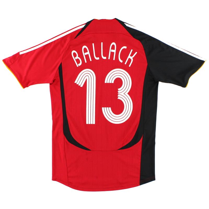 2005-07 Germany Away Shirt Ballack #13 S - 066897