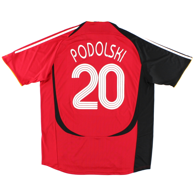 2005-07 Germany Away Shirt Podolski #20 XL