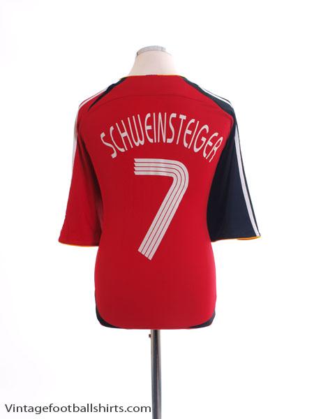 2005-07 Germany Away Shirt Schweinsteiger #7 XL