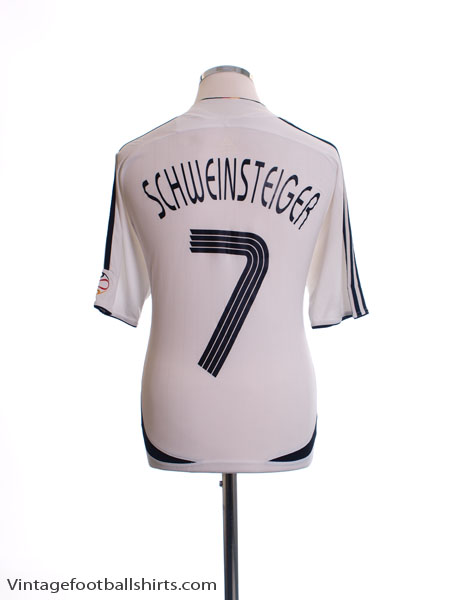 2005-07 Germany Home Shirt Schwinsteiger #7 M