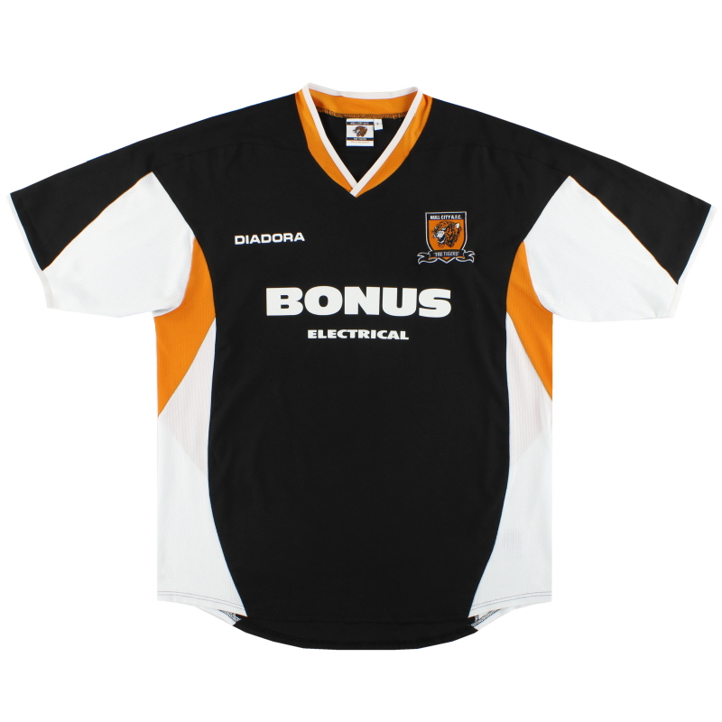 2005-07 Hull City Diadora Away Shirt L