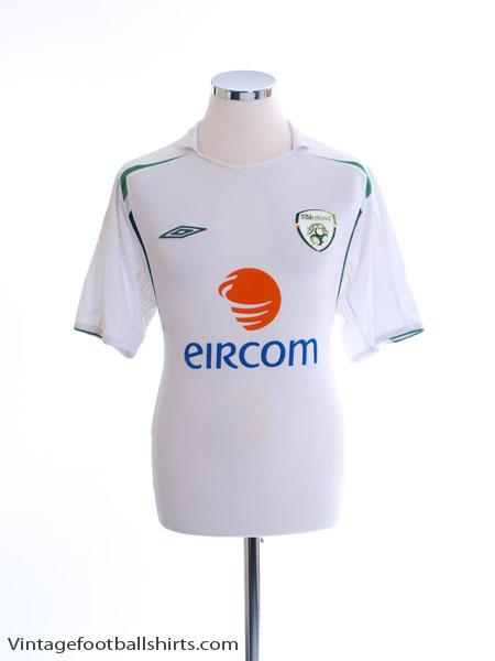 2005-07 Ireland Away Shirt L
