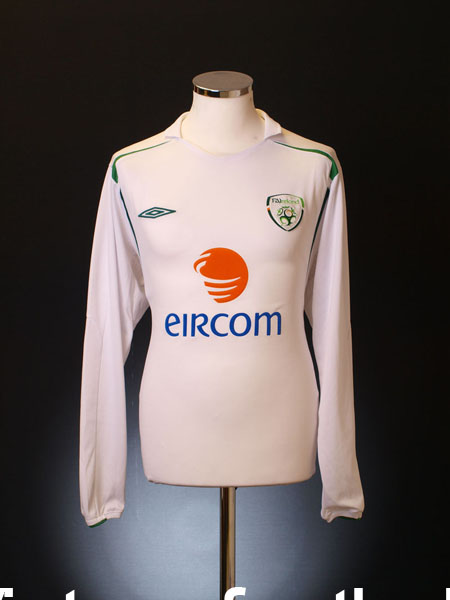 2005-07 Ireland Away Shirt L/S XL