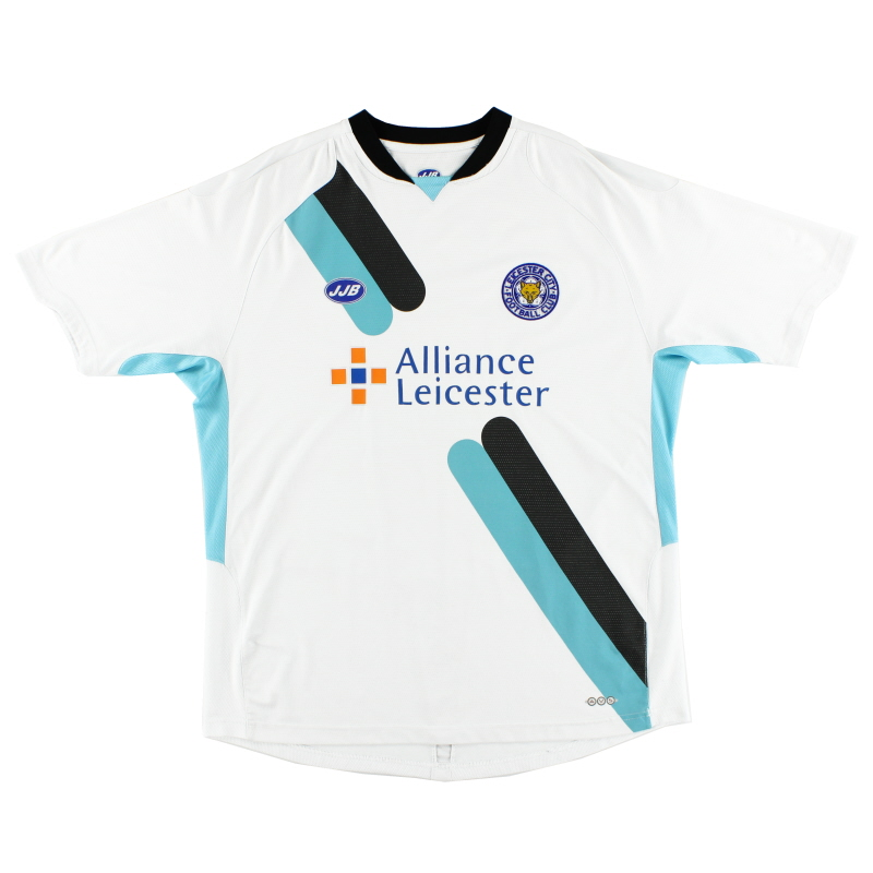 2005-07 Leicester JJB Away Shirt L
