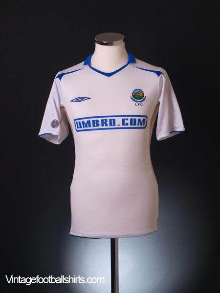 2005-07 Linfield Away Shirt S