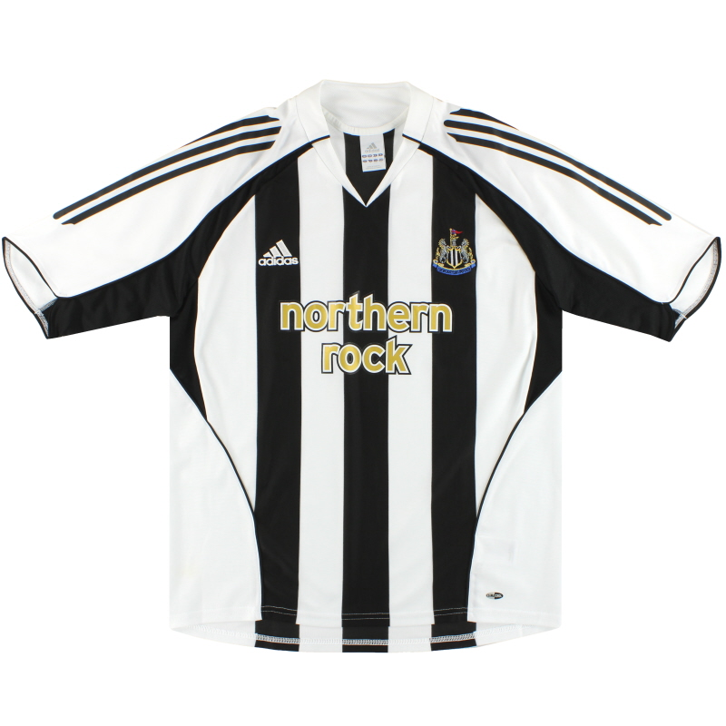 2005-07 Newcastle adidas Home Shirt M - 110161
