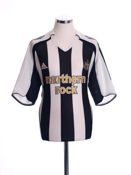2005-07 Newcastle Home Shirt L