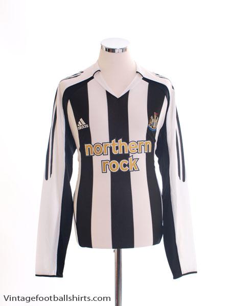2005-07 Newcastle Home Shirt L/S L