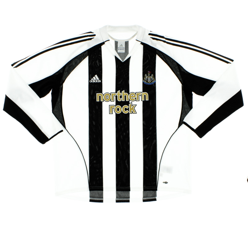 2005-07 Newcastle Home Shirt L/S XXL