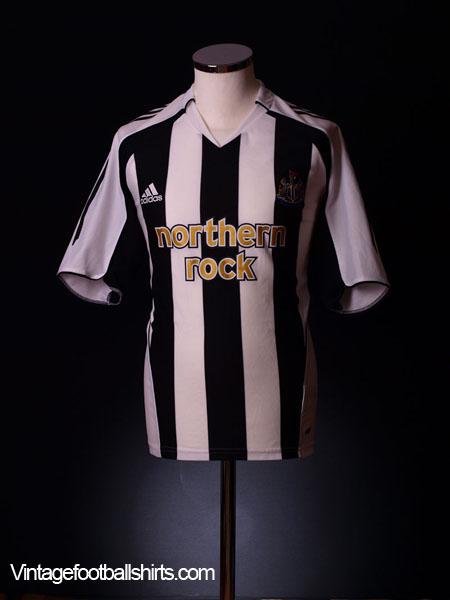 2005-07 Newcastle Home Shirt L