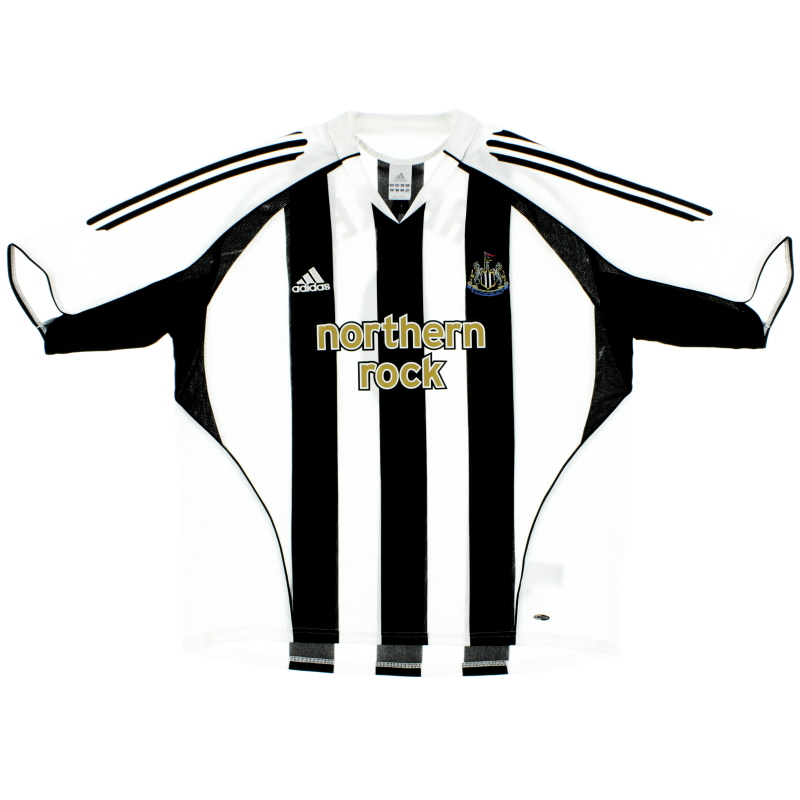 2005-07 Newcastle Home Shirt XL - 110161
