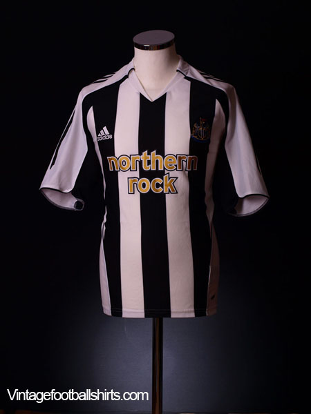 2005-07 Newcastle Home Shirt XL