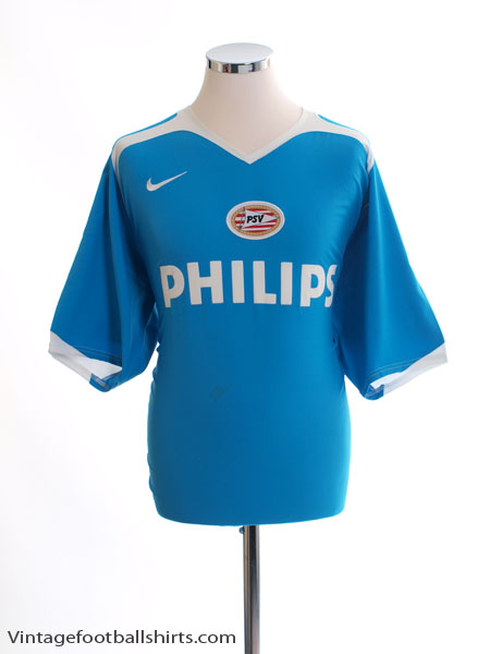 2005-07 PSV Away Shirt *Mint* XL