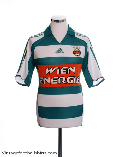 2005-07 Rapid Vienna Home Shirt S