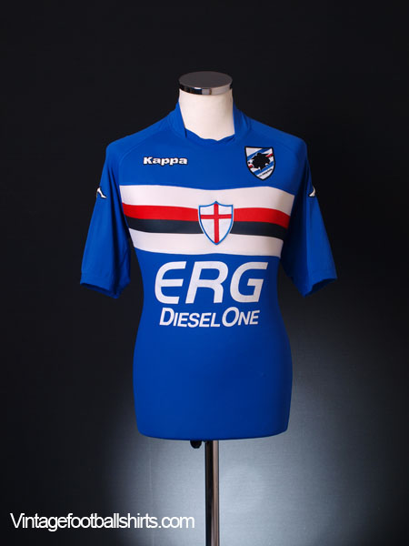 2005-07 Sampdoria Home Shirt XL