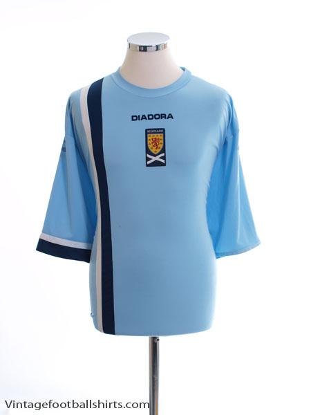 2005-07 Scotland Away Shirt XXL