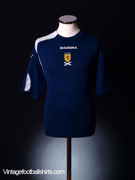 2005-07 Scotland Home Shirt S
