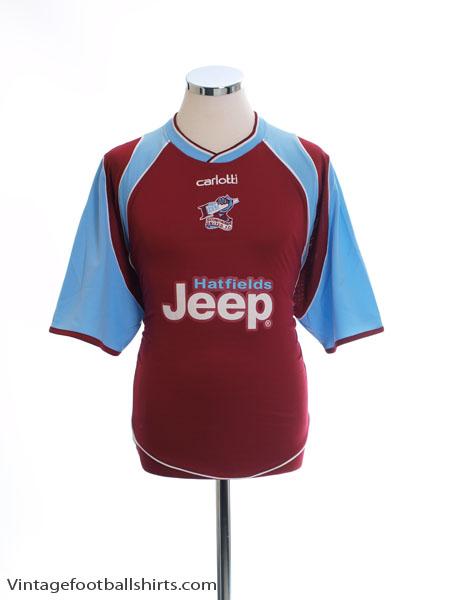 2005-07 Scunthorpe Home Shirt XL