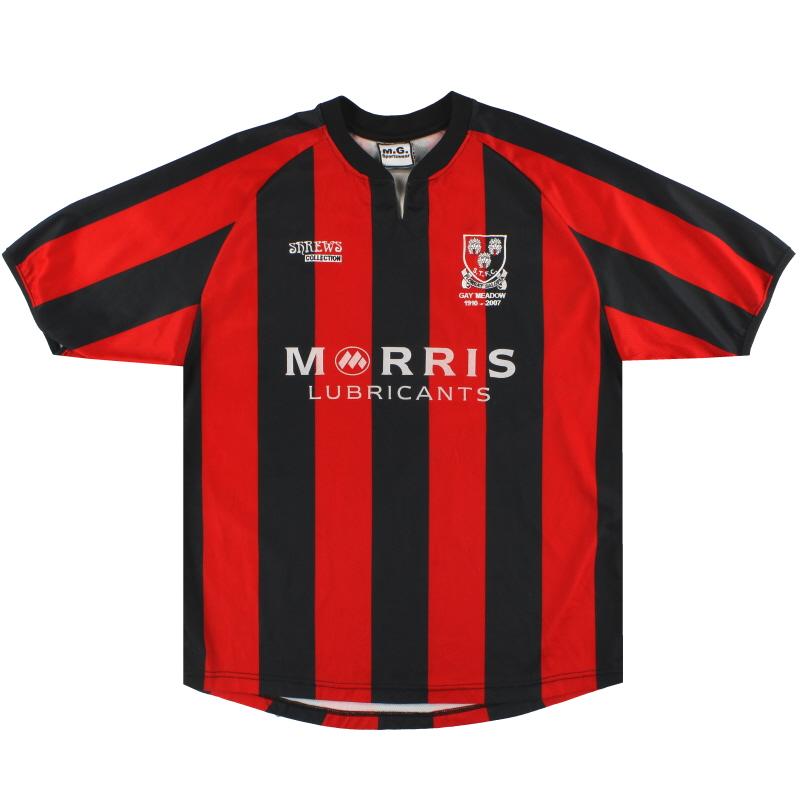 2005-07 Shrewsbury Away Shirt L