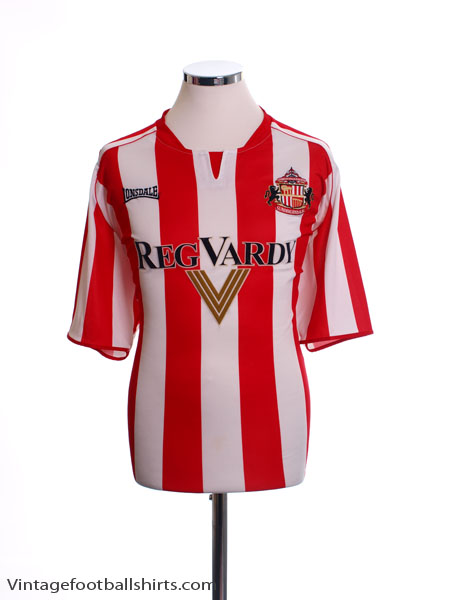 2005-07 Sunderland Home Shirt L