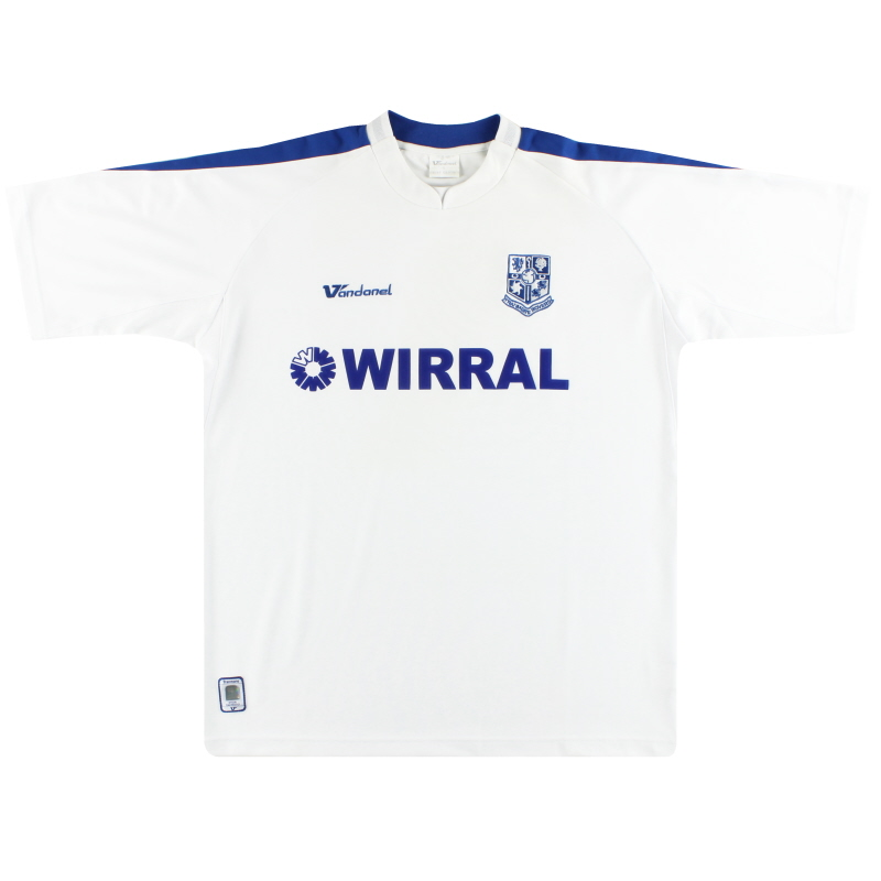 2005-07 Tranmere Rovers Home Shirt L
