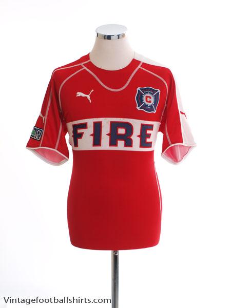 2005 Chicago Fire Home Shirt M
