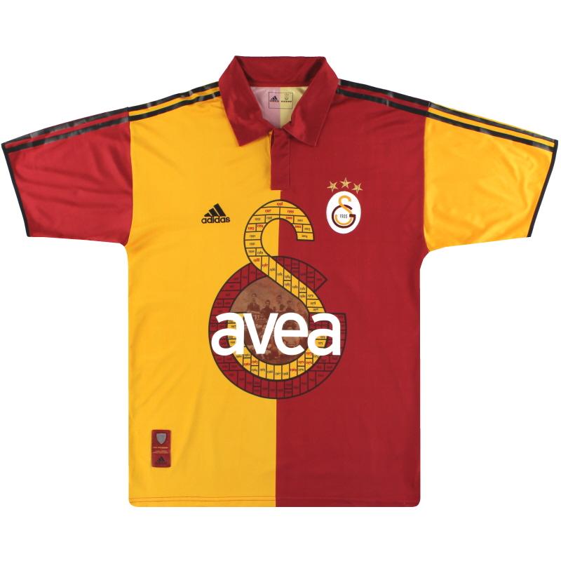 2005 Galatasaray adidas Centenary Home Shirt L