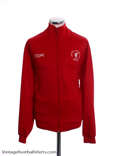 2005 Liverpool ' The Istanbul Final' Track Top L