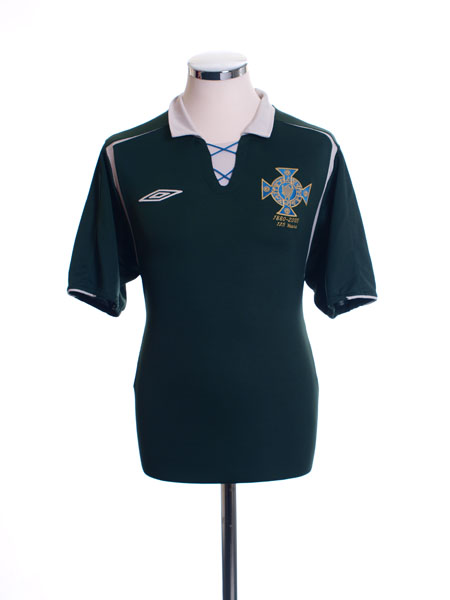 2005 Northern Ireland '125 Years' Home Shirt L
