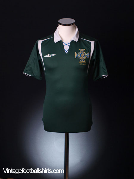 2005 Northern Ireland '125 Years' Home Shirt M