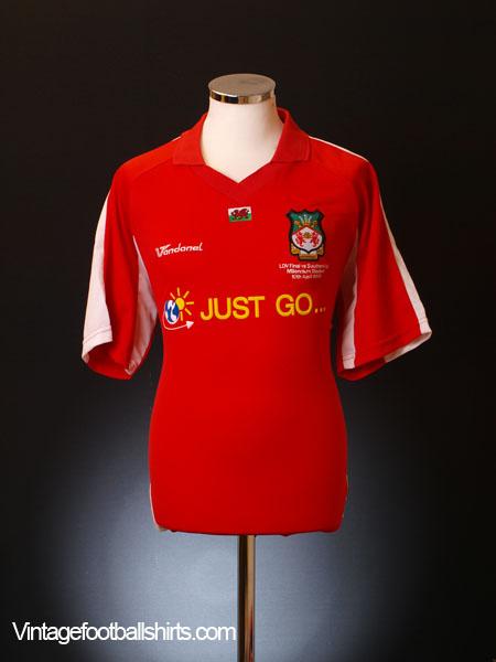 2005 Wrexham 'LDV Vans Trophy Final' Home Shirt L