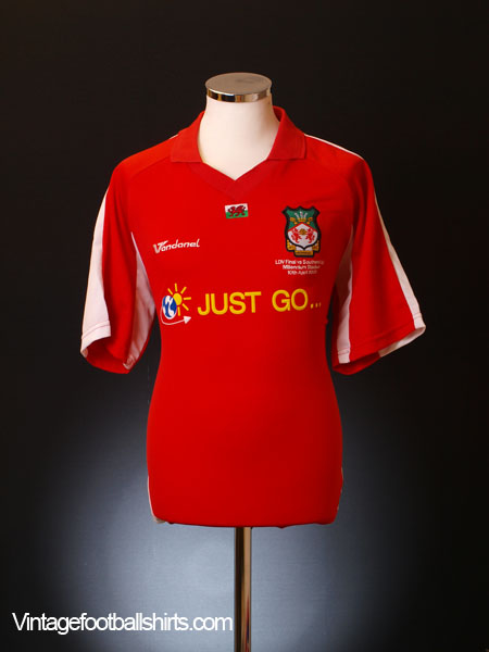 2005 Wrexham 'LDV Vans Trophy Final' Home Shirt M