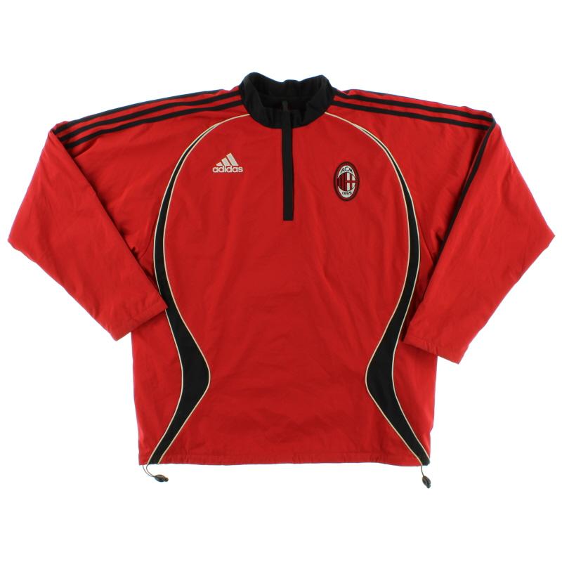 2006-07 AC Milan adidas Training Top *Mint* L - 061430