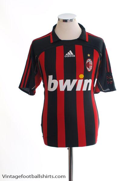 2006-07 AC Milan Home Shirt S - 060747