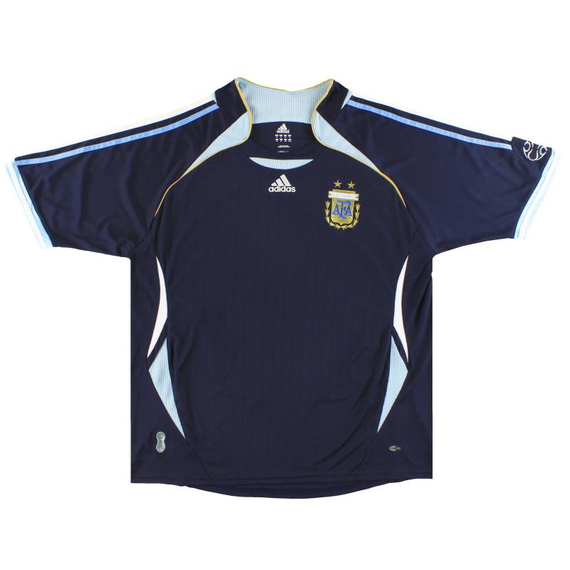 2006-07 Argentina adidas Away Shirt XL - 069519