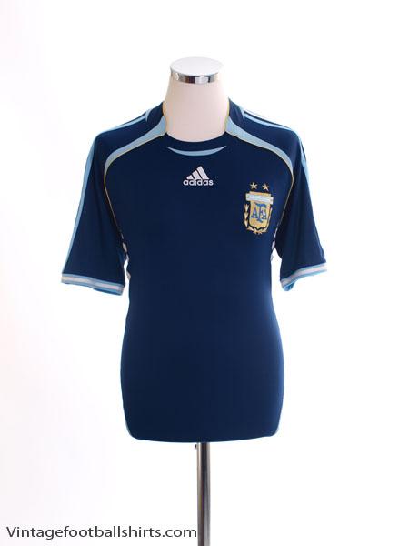 2006-07 Argentina Away Shirt *Mint* M