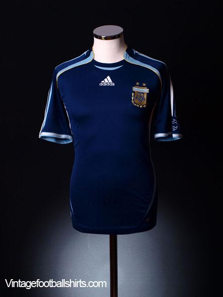 2006-07 Argentina Away Shirt L