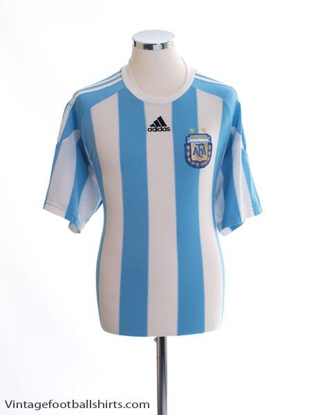 2006-07 Argentina Home Shirt *Mint* XL